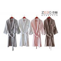 Wholesale Customize Color / Size Hotel Style Bathrobes With Embroidery Logo 1200g from china suppliers