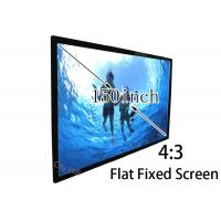 Wholesale Multimedia Cinema Flat Projection Screen 150'' , 1080P Projection Screen from china suppliers