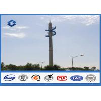 Buy cheap Steel Conical Self Supporting Telecommunication Pole With Climbing Ladders from wholesalers
