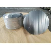 Wholesale Cookware Aluminum Sheet Circle Silver With Pre Painted Non - Stick Black Coating from china suppliers