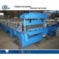 Wholesale Automatic Floor Deck Roll Forming Machine , Structural Steel Decking Systems from china suppliers