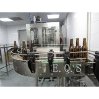 Quality 3 In 1 Small Capacity Automatic Beer Filling Machine , 300Bph - 500Bph Beer Bottling Machine for sale