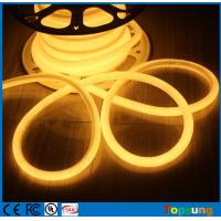 Wholesale 120LED/M led neon rope light 360 degree 16mm mini PVC warm white neon flex DC12V from china suppliers
