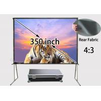 Wholesale Foldable Rear Projection Screens 7112 x 5334mm With Portable Storage Case from china suppliers