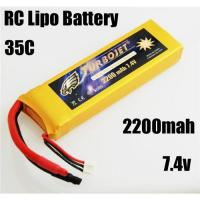 Wholesale 7.4v 2200mah RC Rechargeable lipo battery for RC helicopter,RC car,rc airplane from china suppliers