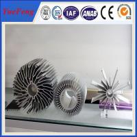 Quality industrial al6063 t5 aluminum extrusion heatsink profiles cooling fin manufacturer for sale