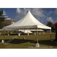Wholesale No Wall High Peak Tents, Pagoda High Peak Party Tent Polyester Fabric Cover from china suppliers