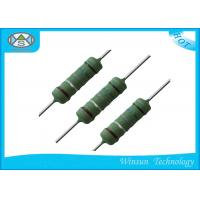 Wholesale Low Noise Wire Wound Power Resistor 0.25W - 10 Watt Resistor With Good Heat Durability from china suppliers