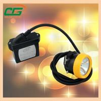 Buy cheap 15000lux 6.6ah Rechargeable Mining Hard Hat LED Lights Waterproof Miner Cap Torch from wholesalers