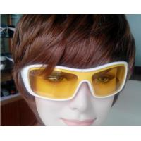 Quality Waterproof Earphone MP3 Bluetooth Headset Sunglasses With Red Frame / Polarized Lens for sale
