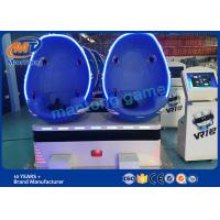 Wholesale 2 Seater 9D VR / Virtual Reality Simulator Roller Coaster Games For Theme Park from china suppliers