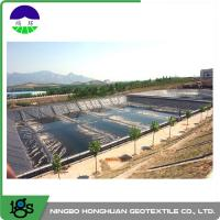 Wholesale 3.00mm Flexible HDPE Geomembrane Liner For Wastewater Treatment Plant from china suppliers