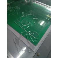 Buy cheap Acrylic router milling cutting production making machine from wholesalers