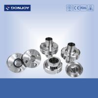 Wholesale Hygienic Aseptic Flange Set Stainless Steel Sanitary Fittings DN11864  Sanitary Thread union from china suppliers