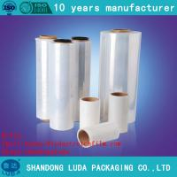 Wholesale Transparent Soft Packaging LLDPE Plastic Cast Stretch Film SGS certfied from china suppliers