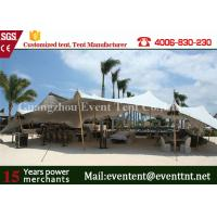 Wholesale Portable Mobile Garage Tent Waterproof , Sun Shade Canopy Tent Transparent from china suppliers