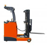 Quality Warehouse forklift electric reach trucks easier for logistic for sale