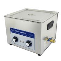 Wholesale 40khz 15L Benchtop Ultrasonic Cleaner With Manual Knobs , Adjustable Timer from china suppliers