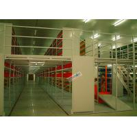 Wholesale Multi Tier Storage Rack Supported Mezzanine Light Grey Structural Steel Platform from china suppliers