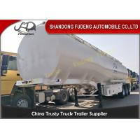 Wholesale 12000 Gallon Tri Axle Tanker Trailer 6 Cabins 12 Wheeler For Diesel / Gasoline from china suppliers