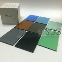 Wholesale Tempered Glass Panel price 4mm 5mm 6mm 8mm 10mm 12mm Bronze Blue Gray Green Dark Light from china suppliers