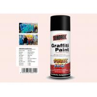 Wholesale Plastic White Color Graffiti Spray Paint Fastest Dry TimeFor Indoor / Outdoor Projects from china suppliers
