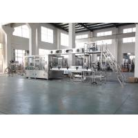 Buy cheap Auto Plastic Bottle Water Filling Machine With PLC Control Stainless Steel Material from wholesalers