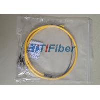 Wholesale Yellow PVC Jacket 4 Core Fiber Optic Pigatil Singelmode Optical Fiber Pigtail ST/UPC from china suppliers