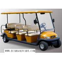 Buy cheap Yellow 12 Passenger Golf Cart , Electric Shuttle Bus For Tourist Resort from wholesalers