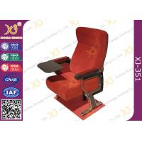 Wholesale Self Weight Close Seat Pad Moive Theater Seating Chairs In Aluminum Alloy Legs from china suppliers
