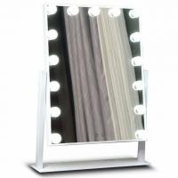 Wholesale Premium Led MakeUp Mirror Metal Frame For Salon , Hollywood Led Mirror from china suppliers