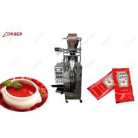 China Automatic Ketchup Packing Machine|Tomato Sauce Packing Machine For  Sale on sale