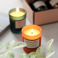 Wholesale Christmas Luxury Packaging Home Scented Candles Colorful Glass Candle Jar from china suppliers
