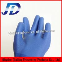 Quality JD818 Cheap Industrial Oil Resistant Safety Working Gloves for sale