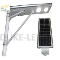 Wholesale 130LM / W 4m - 8m IP65 Unique Solar Powered Street Lights 90w Sunpower 50 watt COB LED Source from china suppliers