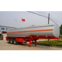 Wholesale Steel Material 60 CBM Oil Tank Trailer 3 Axles Tanker Semi Trailer For Oil Fuel Transporting from china suppliers