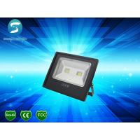 Wholesale High Lumen Industrial Outdoor LED Flood Lights , Slim 100W Warm White LED Flood Light IP65 from china suppliers