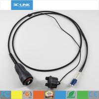 Quality LC duplex Fiber Optic Cable FULLAXS Fiber to the Antenna Rugged Interconnect cord for sale