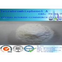 Wholesale Tetrabromobisphenol A White Powder Plastic Additives CA 79-94-7 C15H12Br4O2 from china suppliers