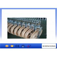 Wholesale Overhead Transmission Line OPGW Installation Tools Conductor Stringing Blocks φ660x100mm from china suppliers
