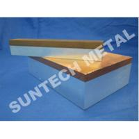 Wholesale C1100 / A1060 Thick Aluminum and Copper Cladded Plates for Transitional Joint from china suppliers