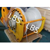 Wholesale Large Capacity Hydraulic Mooring Winch For Boat / Truck / Trailer / Bulldozer from china suppliers