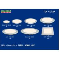 Wholesale Energy Saving 7W Round LED Recessed Panel Light Warm White For Home from china suppliers