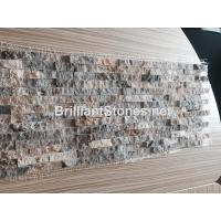Wholesale Italy Silver Grey Travertine Mosaic Split Face from china suppliers
