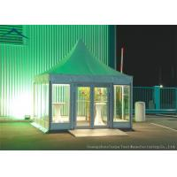 Quality European Aluminum Pagoda Tents With Glass Wall For Outdoor Event for sale