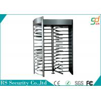 Wholesale Double Entrance Full Hight Turnstiles Single Channel Access Control Turnstile from china suppliers
