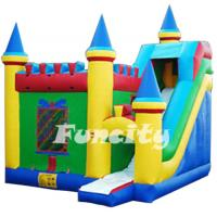 Wholesale Plato 0.55mm PVC Inflatable Bouncy House with Custom Design from china suppliers