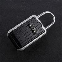 Wholesale Auto Key Safe Car Lock Box For Keys 4 Digit Combination Aluminum Alloy Frame from china suppliers