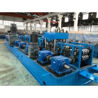 Wholesale 2.0 - 5.0mm Steel Purlin Roll Forming Machine with Gear Box Wire - electrode structure from china suppliers