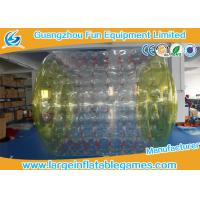 Wholesale 2.7*2.4*1.8M Adults Inflatable Wate Roller , Inflatable Water Games Ball Toys from china suppliers
